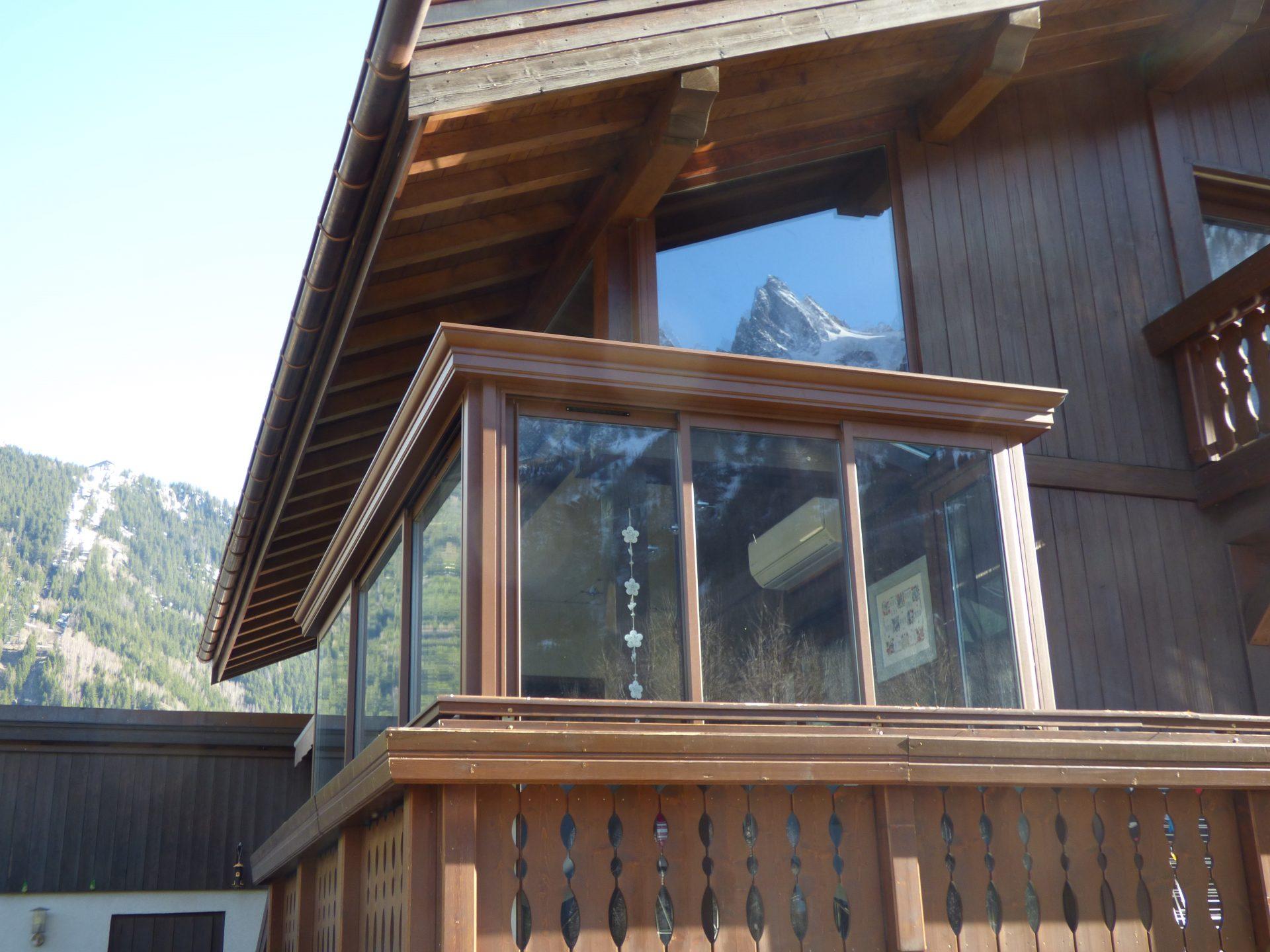 véranda Chamonix Haute-Savoie